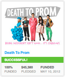 Death To Prom Kickstarter Success!