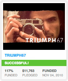 TRIUMPH67 Kickstarter Success!