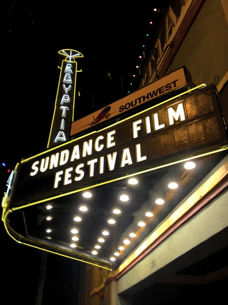 the obligatory Sundance shot at The Egyptian Theater