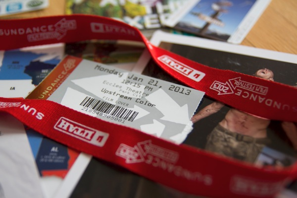 Sundance 2013 badge & tickets