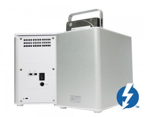 The DataTale SMART 4-bay Thunderbolt RAID.