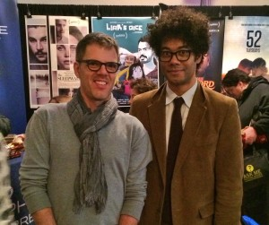 Jeremy and Richard Ayoade