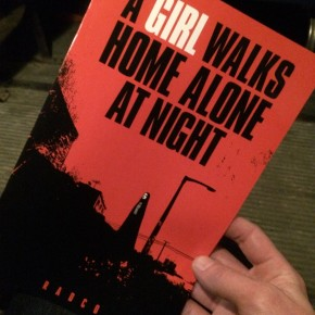 A Girl Walks Home Alone At Night graphic novel
