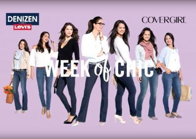 Denizen Jeans and CoverGirl