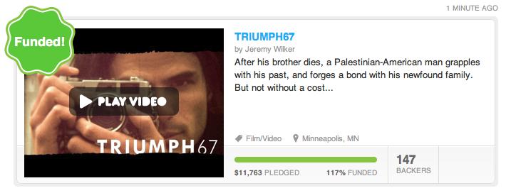 Kickstarting TRIUMPH